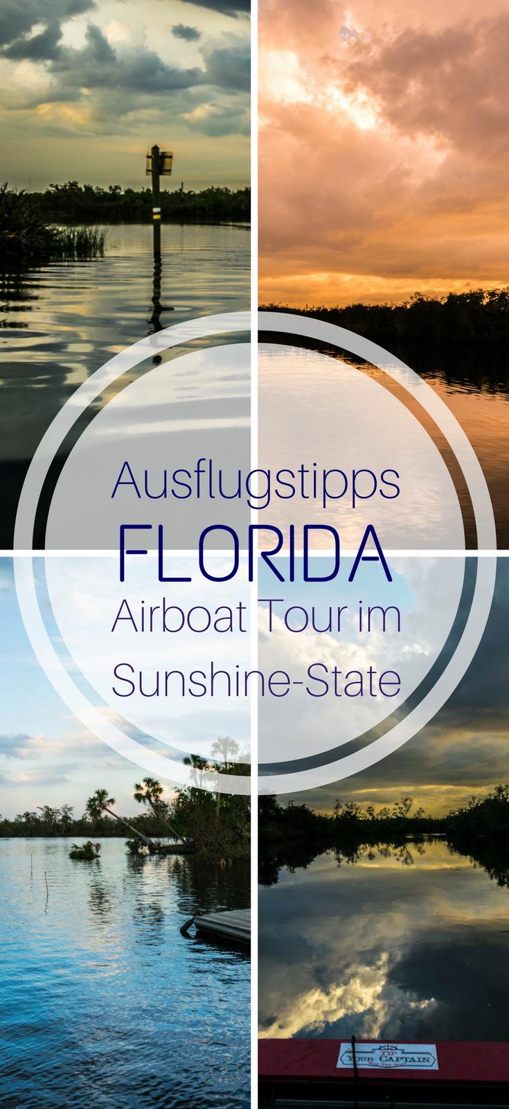 Ausflugstipps Florida - Airboat Tour im Sunshine-State