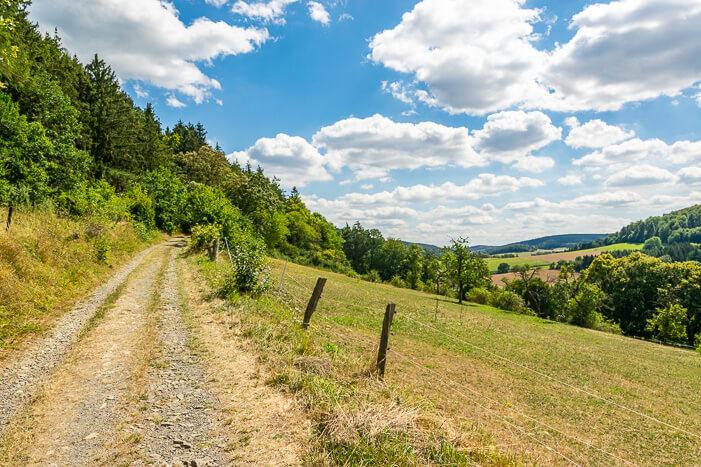 Wanderung Hagenstein-Route Edersee