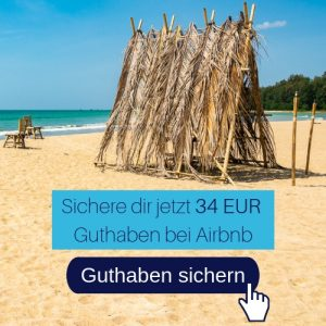 Airbnb Guthaben 34 EUR geschenkt