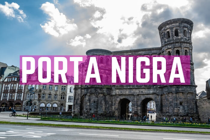 Porta Nigra – Das schwarze Stadttor in Trier