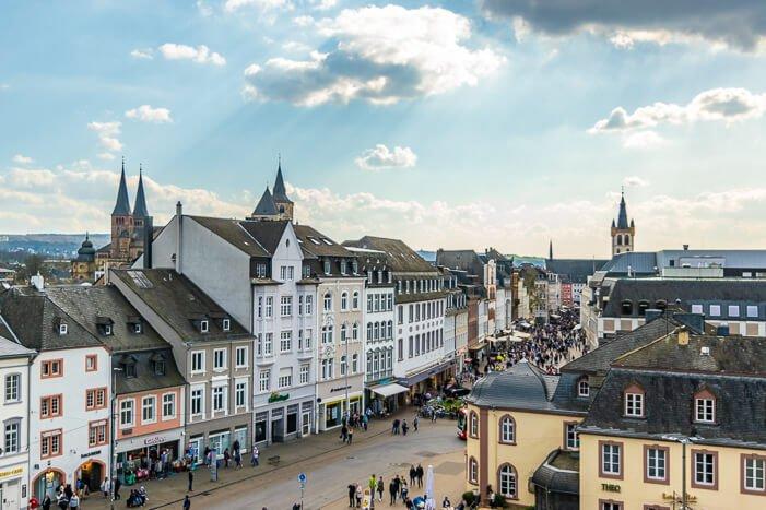 Aussicht auf Trier