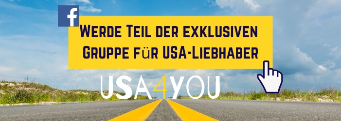 Facebook Gruppe für USA Liebhaber: USA4You