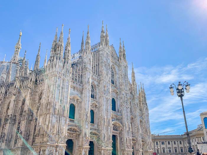 Reisetipps Mailand: Der Mailänder Dom von außen