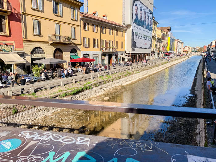 Stadtviertel in Mailand: Naviglio Grande