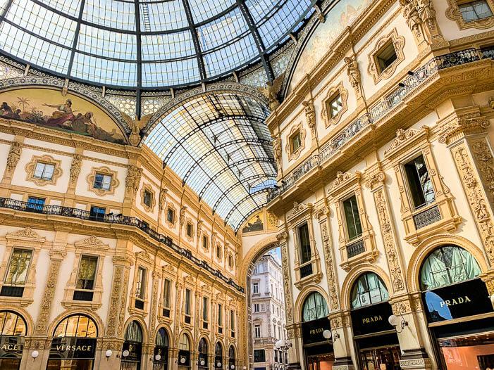 Viktor-Emanuel-Passage in Mailand