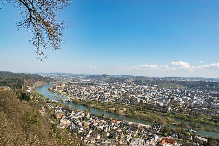 Trier Sehenswürdigkeiten - Ausblick auf Trier