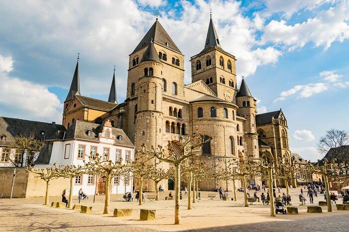 Trier Sehenswürdigkeiten - Dom in Trier und Liebfrauenkirche
