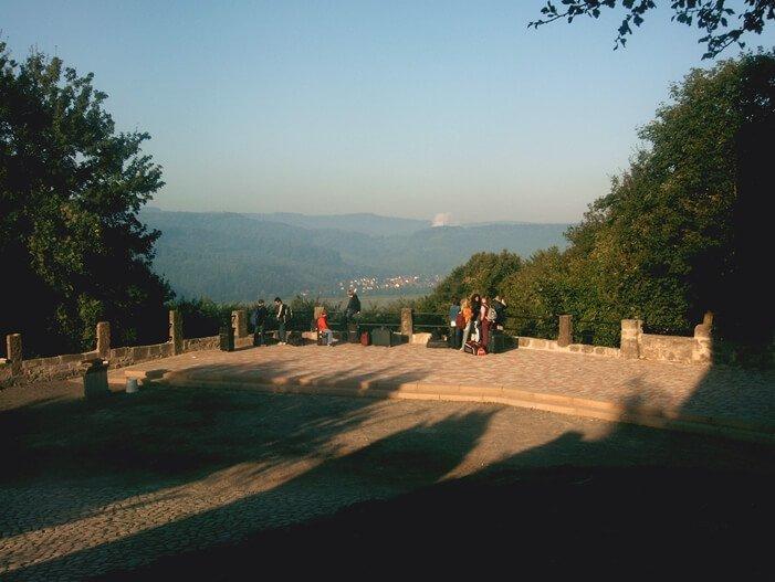 Aussicht von Burg Ludwigstein