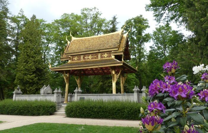 Ausflugsziele Hessen: Kurpark in Bad Homburg