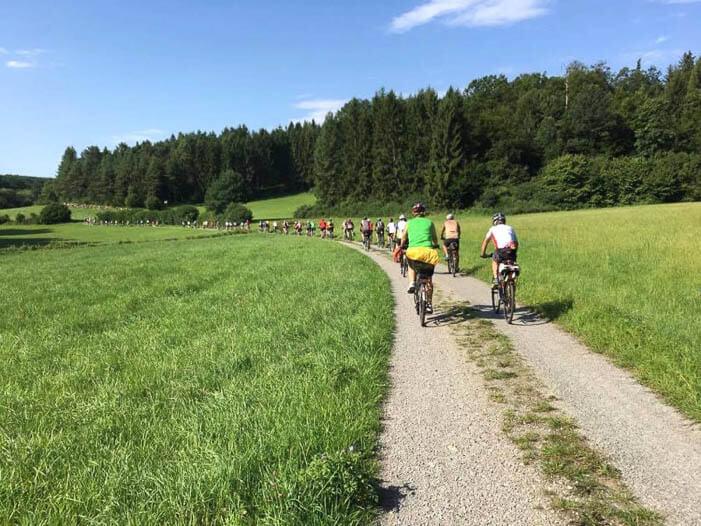 Radtour im Odenwald