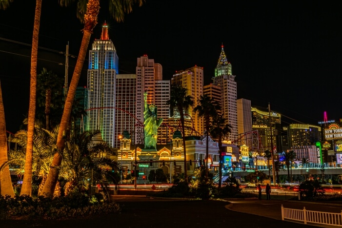 USA Westküste: Las Vegas bei Nacht