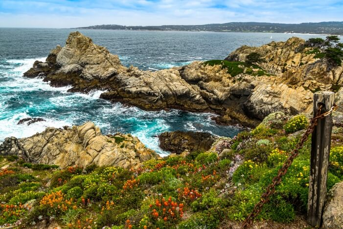 USA Westküste: Wandern im Point Lobos State Reserve