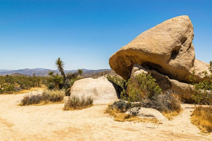 Felsformationen im Joshua Tree National Park