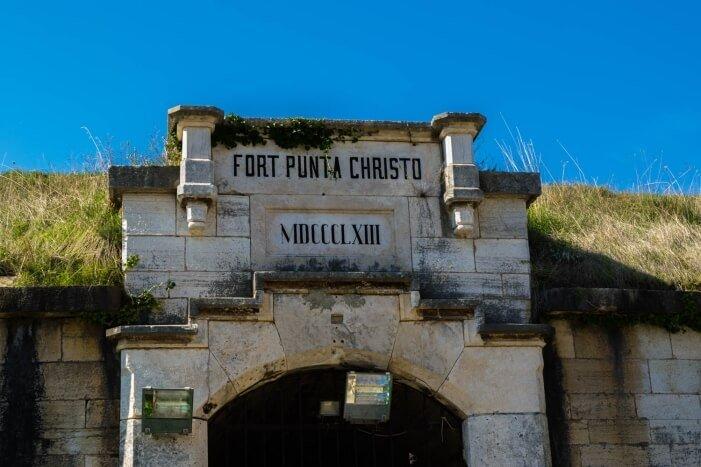 Fort Punta Christo Kroatien Urlaub