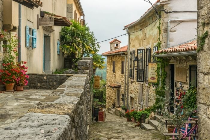 Die kleinste Stadt der Welt - Hum in Kroatien