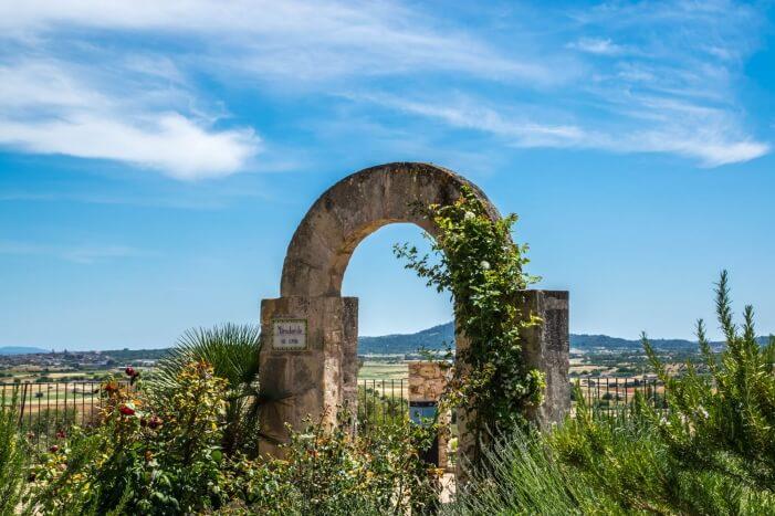 Schöner Fotopunkt auf Mallorca: Ariany