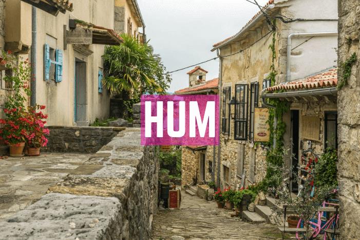 Hum in Kroatien: Die kleinste Stadt der Welt