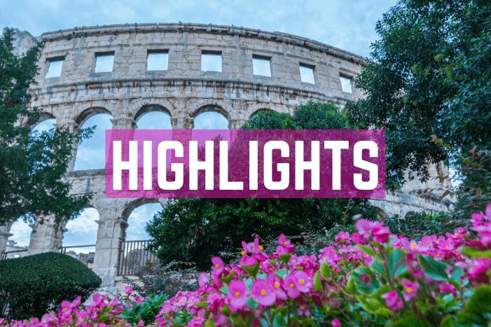 Highlights und Sehenswürdigkeiten in Kroatien in Istrien