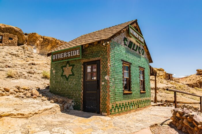 Calico Ghost Town - Bottle House