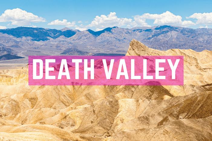 Death Valley Sehenswürdigkeiten