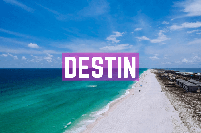 Destin in Florida Panhandle