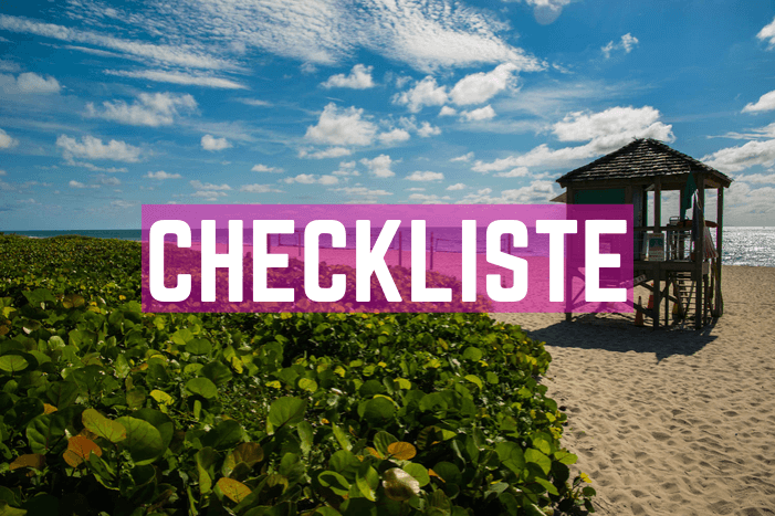 Checkliste Florida