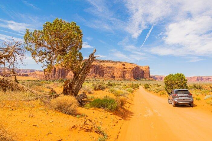 Weite Landschaften in den USA