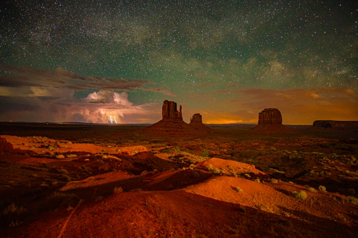 Fotolocations USA Sternenhimmel im Monument Valley