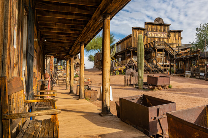 Goldfield Ghost Town auf Arizona Roadtrip