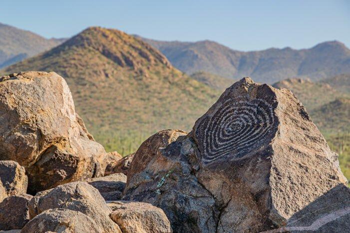 Signal Hill im Saguaro National Park
